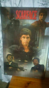 EXCELLENT LARGE SCARFACE POSTER