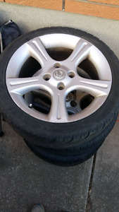 17in 4 bolt Nissan Sentra SER rims with tires