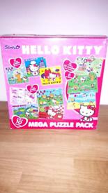 Hello Kitty 10 Mega Puzzle Pack age 3+