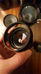 Russian LTM lenses