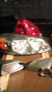 Chevy impala passanger head/tail lamp assembly & side  mirriors