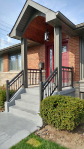 Porch Aluminum Railings