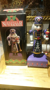 Handcrafted Wooden Musical Nutcracker