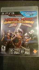 Playstation move Medieval Moves Deadmun's Quest $15 Never played West Island Greater Montréal image 1