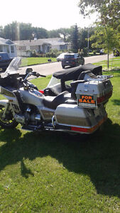 goldwing aspencade and 2 seater sidecar(SOLD)