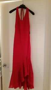 Red cocktail dress size small
