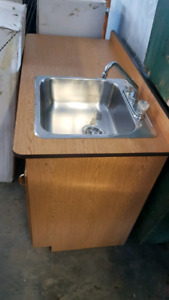 Cabinet with sink