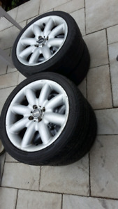 Mini cooper s wheels roues rims mags 215 45 r17