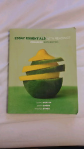 Essay essentials with readings Enhanced sixth edition