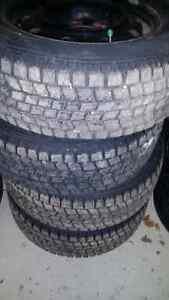 Goodyear Blizzak Winter Tires excellent cond low kms 215 60 r15