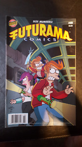 Classic comics. Collectors items.  Futurama sonic Indiana Jones