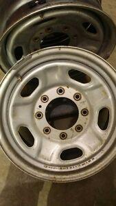"Superduty 17"" 8x170 OEM Steel Wheels, Center Caps, TPS Sensors"