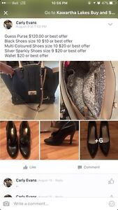 GUESS PURSE AND SHOESS!!!