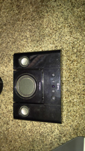 I-station ipod dock and speaker