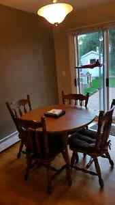 Dining Table (Solid Wood)