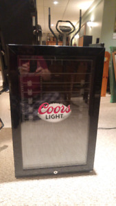Coors Light bar mini fridge