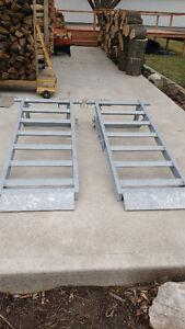 Equipment Trailer  Ramps