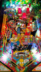 Pinball The Simpsons  ( Data East )