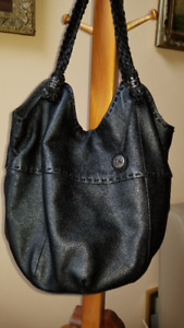 THE SAK 100 % Leather Large Hobo Bucket Slouch SHOULDER / TOTE