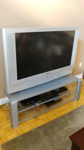 Sony wega 50inch tv and stand, $100