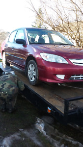 2005 civic trade for truck