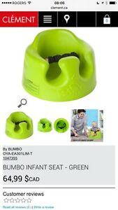 Brand new Bumbo seat siège Lime still in box