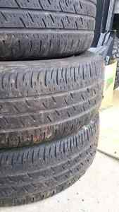2008 185 65 R15 Nissan Versa tires and rims x 4 Peterborough Peterborough Area image 3