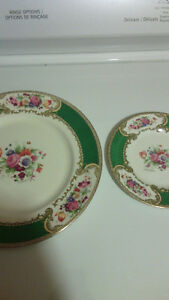 Royal Crown Dishes,Tins,AntiqueDish and various picture frames