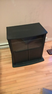 TV stand and DVD rack $40 OBO