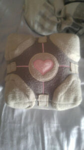 Official Valve Portal Companion Cube Plush by NECA 6""
