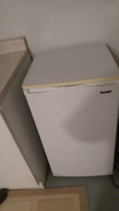 Good sized mini fridge with small freezer