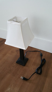 Square Accent Table Lamp