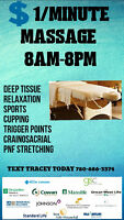 8am MASSAGE★ONLY $1/Minute★TEXT ME