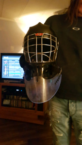 Street hockey goalie equipment