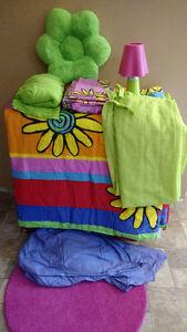 Little girls bedroom in a bag