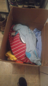 Boy clothing lot size 6 months