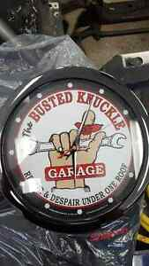 Busted Knuckle Garage Clock For Sale