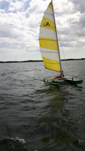 Hobie 14 with trailer