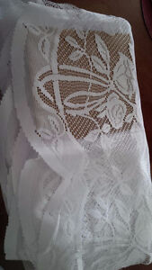 4 New White Curtains for Tayloring - for sale ! Kitchener / Waterloo Kitchener Area image 2