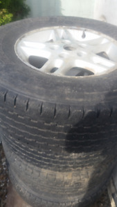 Truck winter tires with rims 245/75/16 LT