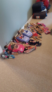 LOTS of Barbie stuff