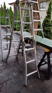 THREE LADDERS FOR SALE