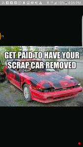 Paying top for scrap cars 4166241727 used cars roadside towing