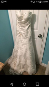 New with tags! Kathy Evans Bridal Studio Dress