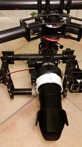 DSLR Gimbal for Drone or Handheld Use