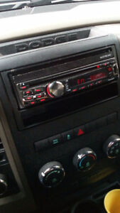 In-Dash DVD Stereo touch screen with hands free