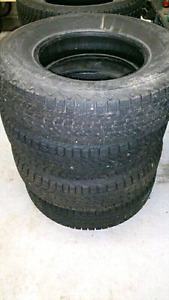 Set of 4 Winter tires for sale! Used 1 season !