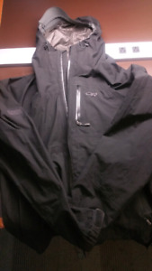 Outdoor Research Foray GORE-TEX rain jacket - Black/XL