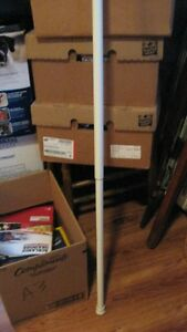spring loaded shower rod