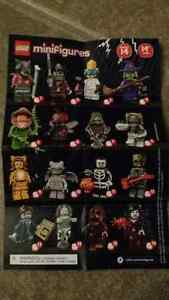 Lego Series 14 Monster Minifigures